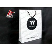Quality Environmental Custom Printed Paper Bags Paper Sacks With Handles for sale