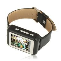 Quality Black MP3 Audio File Format SMS Messaging Cell Phone Wrist Watches for sale