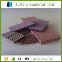 Quality Construction material new price WPC supplier Chinese wood plastic composite factory for sale