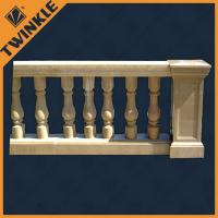 Quality Ornaments stone garden green granite marble balustrade for outdoor decking for sale