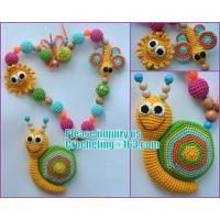Buy cheap Amigurumi funny toy Nursing necklace Breastfeeding necklace teething toy from wholesalers