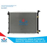 Quality Silver Ford Aluminum Radiator , 2002 Ford Escort Cooling System Brazing Auto Car Spare Parts for sale