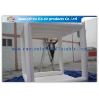 China Sealed  Inflatable Air Tent Outdoor Oxford Marquees White Square Inflatable Camping Tent for sale