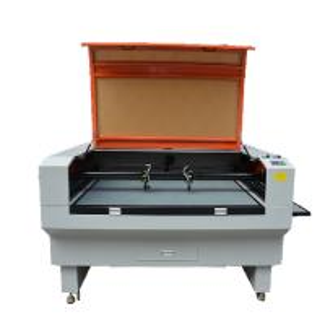 China Orange Acrylic Laser Machine Double Laser Heads For Laser Cutting Acrylic Sheets on sale