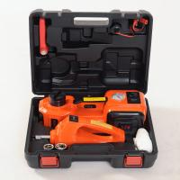 Buy cheap 12Vemergency car tool 5 Toncar Floor Jack, 3 in 1 Tire Change Kit with Inflator from wholesalers