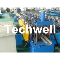 Quality 75mm Roller Diameter, 7.5KW Steel Security Door Frame Roll Forming Machine for sale