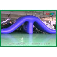Quality Childrens Water Park Inflatable Water Toys , PVC Funny Swimming Pool Slides for sale