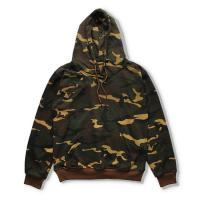Plain Thicken Cotton Winter Mens Camo Hoodies Moisture Wicking Any Size Available for sale