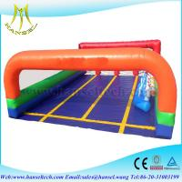 Quality Hansel commercial inflatable racing game for kids inflatable field for children for sale