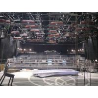 Quality 24M * 12M Iron Rotating Truss Stage Platform Hot Galvanized Bleacher Chairs With Backs for sale