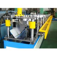Quality Roof Tile Crest Ridge Cap Roll Forming Machine CE / SGS Certificated for sale