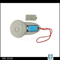 Handheld Dog Rfid Reader , LF White Eid Tag Reader For Animal Microchip