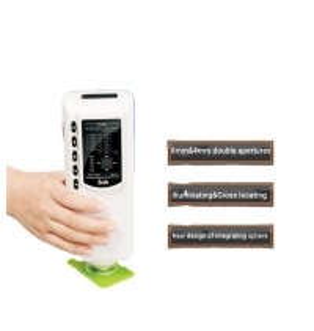 Quality 8mm Apertrue Plastic Ceramic Paint Portable Chroma Meter for sale
