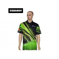 Quality Polyester Spandex High Quality All Over Printed Sports Polo T-Shirt for sale