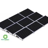 Quality Flexible Ballasted Ballast Solar System Solar Mounting Bracket With Wind Deflector for sale