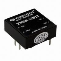 Quality DC-DC Converter, 9 to 18/18 to 36/36 to 75V DC Input Voltage, Single, Double Output of 5W, 1x1 Size for sale