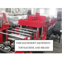Buy C Model Profile Roll Forming Machine / C Purlin Bending Machine , C Steel Roll Forming Machine at wholesale prices