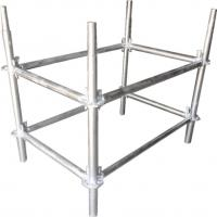 Quality Φ50*T3 mm Galvanized Steel Lighting Truss Accessories Pillar For Background Truss for sale