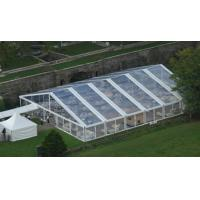 Custom Clear Roof Luxury Wedding Tent Durable For Royal Party Self cleaning for sale