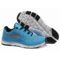 Quality china cheap wholesale Nike Free 3.0 V4 Blue Grey Black Running Shoes for sale