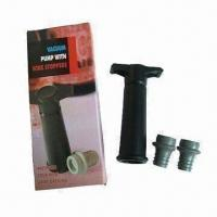Quality Bottle Freshen Saver Vacuum Wine Stoppers, Made of Silicone for sale