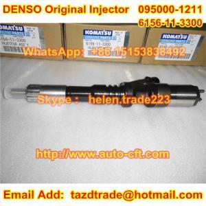 Quality DENSO Original 095000-1211 / 095000-1210  komatsu 6156-11-3300, 6156-11-3301, 6156113300 for sale