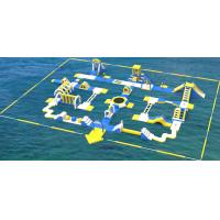 Quality Giant Inflatable Water Park Equipment / Inflatable Sea Water Park For Adults And Kids for sale