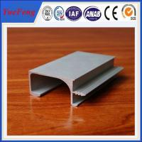 Quality L shape industrial anodize aluminium profile, silver anodized aluminium extrusion angle for sale
