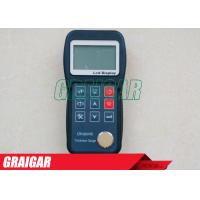 Buy High Resolution Ultrasonic Thickness Gauge Two Point Calibration White Backlight at wholesale prices