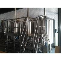 China 50 BBL Brewhouse Micro Breweries , Steam Heated Micro Beer Brewing Equipment on sale