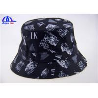 Quality Custom-made Sublimation Bucket Hats / Fashion Men Fishman Cap for sale