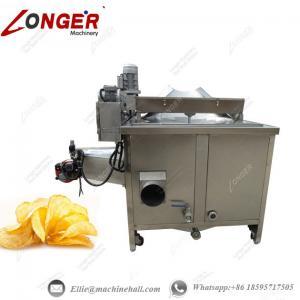Buy cheap Potato Chips Frying Machine|Automatic Potato Chips Fryer|Potato Chips Frying from wholesalers