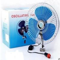 China 8 Oscillating Car Radiator Electric Cooling Fans With Customized Color on sale