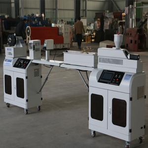 Quality Lab Plastic Filament Extruder Machine , Desktop 3d Printer Filament Maker for sale