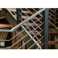 Quality Beautiful Stainless Steel Railing / Stainless Steel Pipe Handrail T19001 Approved for sale