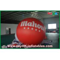 Quality Customize Inflatable Balloons For Advertising / Outdoor Inflatable Helium Balloon Advertising for sale