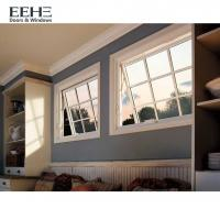 Quality Roof Skylight Aluminium Awning Windows With Non Thermal Break Frosted Glass for sale