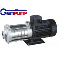 Quality CHL light stainless steel Multistage High Pressure Pumps low noise for sale
