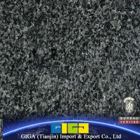 China cheap natural stone black granite floor tiles on sale