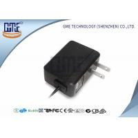 Quality Medical Power Adapter 5v 1a US Plug Black With UL FCC Certificated for sale