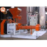 Quality 1-1.2 T/H 90 Kw Fish Feed Extruder Machine Aquatic Crab Catfish Tilapia 3600kg for sale