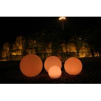 Quality Dia 80cm PE Long Lasting Decorative LED Night Lights , LED Ball Lights for sale