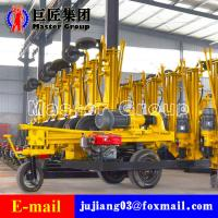Quality KQZ-180D gas and electricity linkage DTH drilling rig for sale