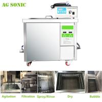 Quality 360L Auto Parts Ultrasonic Cleaner with 28khz Strong Frequency Power Adjustable for sale