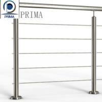 Quality Hot sales 304/316 Stainless steel balcony cable/wire railing design for sale