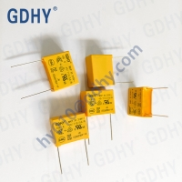 Quality X2 105K AC 310V IUF MKP Safety Capacitor Kemet EMI Suppression Over Voltage Stress Withstanding for sale