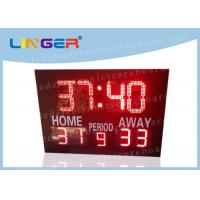 Quality 12'' and 16'' inch Digits in Red Color Led Electronic Horse polo Scoreboard for Customized Design for sale