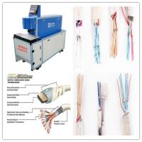 Buy cheap Glass Fiber Air Cooled Wire Stripping Machine Moving Distance Adjustable from wholesalers