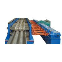 Quality Baffle Highway W Beam Guardrail Roll Forming Machine Panasonic PLC Automatic Control for sale