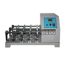 Quality Flexing Resistance Testing Machine , Leather Crumpling Resistance Tester Six Station for sale